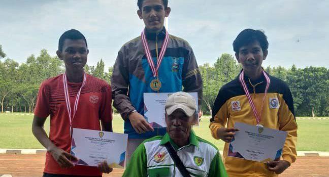 Enzo Kembali Sabet Dua Medali Emas Kejuaraan Atletik Kabupaten