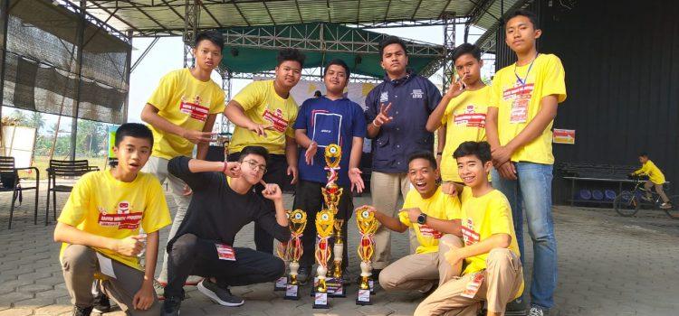Tim Robotik Alber Borong Piala