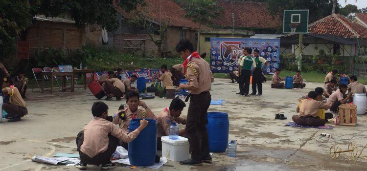 Tong Sampah Otomatis Al Bayan Juara Lomba Hasta Karya Pramuka